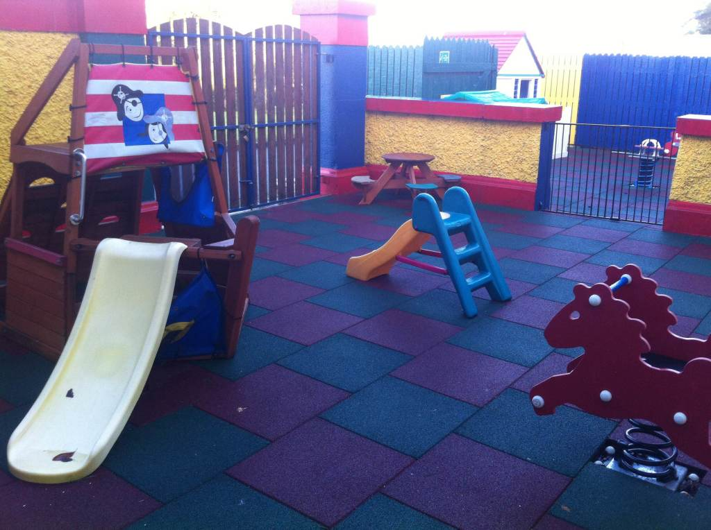 Playground at Tiny Tots Ballinasloe Co. Galway